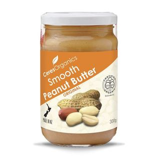 Ceres smooth peanut butter 300g