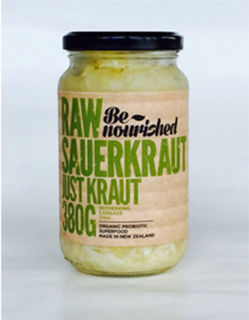 Be nourished raw sauerkraut just kraut 380g