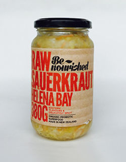 Be nourished raw sauerkraut helena bay 380g
