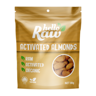 Hello Raw Atcivated Almonds - 80g
