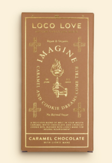 Loco Love - Caramel white chocolate block