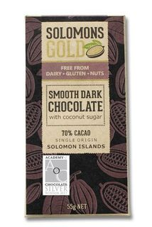 Solomon's Gold Smooth Dark Chocolate 55g
