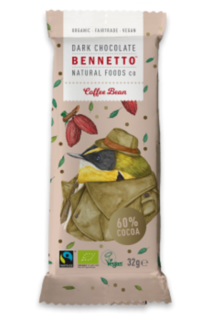 Bennetto Chocolate Mini Coffee Bar 30g