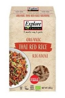 Explore Cuisine Thai Red Rice Rigatoni Pasta