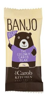 Banjo The Vegan Coconut Carob Bear Bar 15g