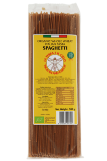 La Terra Whole Wheat Spaghetti Pasta 500g