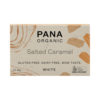 Pana White Chocolate Salted Caramel 45g