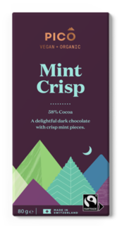 Pico Chocolate Mint Crisp 80g