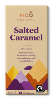 Pico Chocolate Salted Caramel 80g
