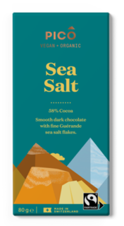 Pico Chocolate Sea Salt 80g