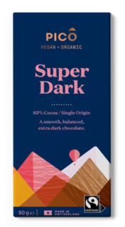 Pico Chocolate Super Dark 80g