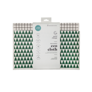 Good Change Reusable Eco Cloth Large 2 Pack