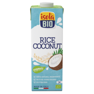 Isola Bio Rice Coconut Milk 1L