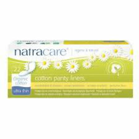 Natracare ultrathin panty liners x22