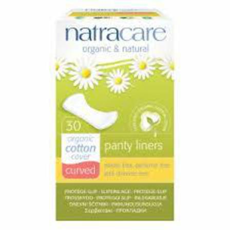 Natracare curved panty liners x 30