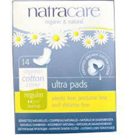 Natracare Ultra pads regular x 14