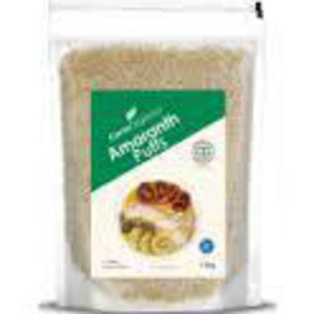 Ceres amaranth puffs 150g