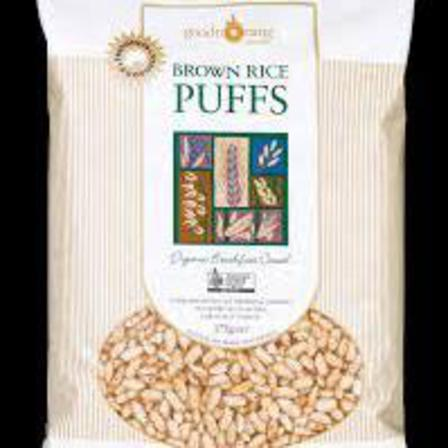 Good morning cereals brown rice puffs 175g