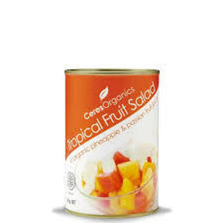 Ceres tropical fruit salad 400g
