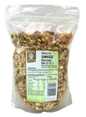 Chantal swiss bircher 750g