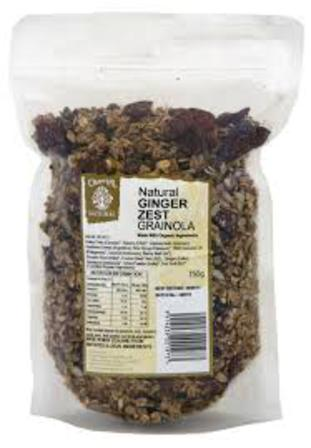 Chantal ginger zest granola 750g