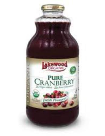 Lakewood cold pressed cranberry juice 946ml