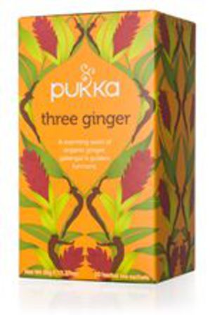 Pukka Tea three ginger