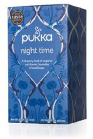 Pukka tea night time