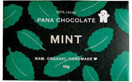 Pana raw chocolate mint 45g