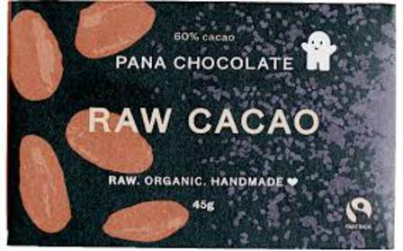 Pana raw chocolate raw cacao 45g