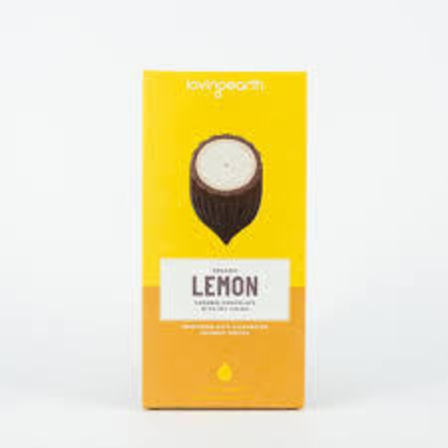 Loving earth lemon caramel chocolate 80g