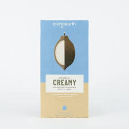 Loving earth creamy chocolate 80g
