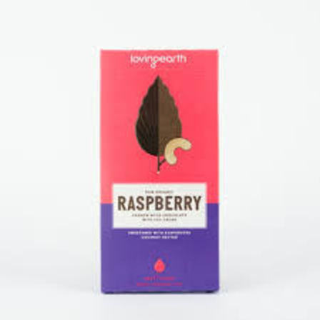 Loving earth raspberry chocolate 80g
