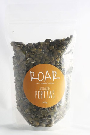 Roar activated pepitas 500g