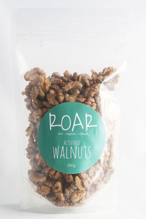 Roar activated walnuts 300g