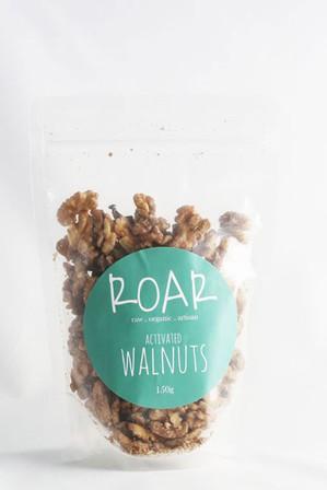 Roar activated walnuts 150g
