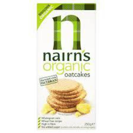 Cairns organic oat cakes 250g