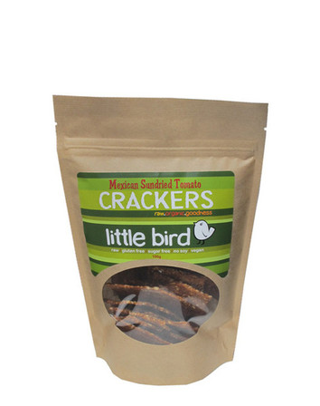 Little bird crackers mexican sundried tomato 100g