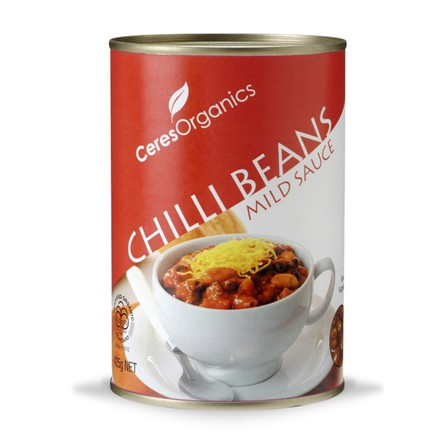 Ceres chilli beans in mild sauce 400g