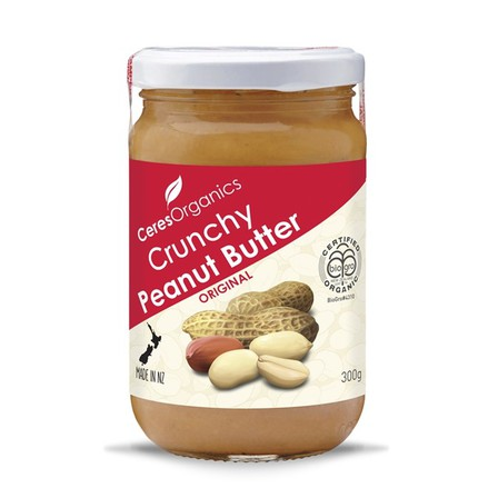 Ceres peanut butter crunchy 300g