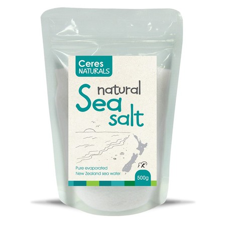 Ceres natural sea salt 500g