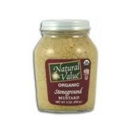 Natural value stoneground mustard 226g