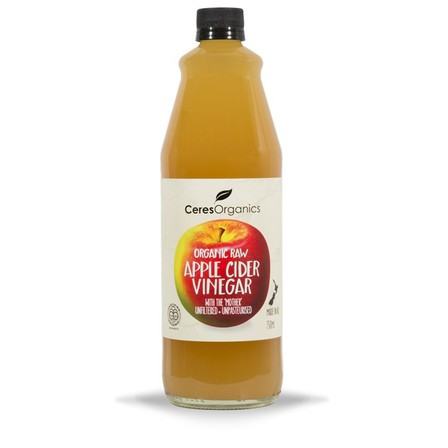 Ceres raw apple cider vinegar 750ml