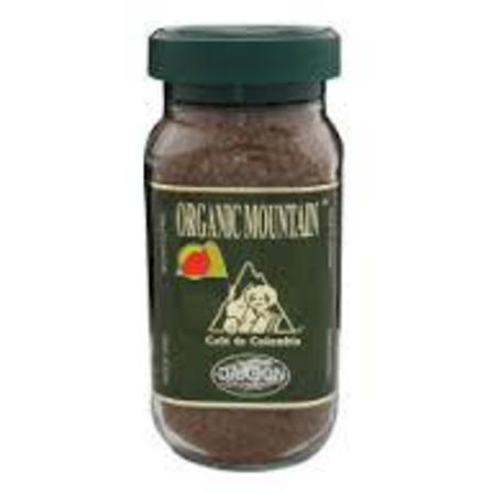 Organic mountain instant coffee 100g