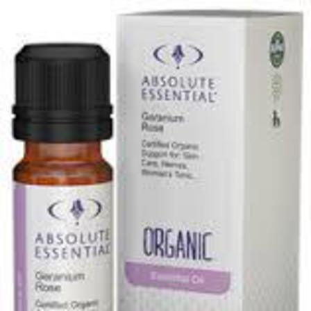 Absolute essential oil geranium rose
