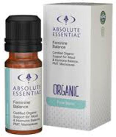 Absolute essential oil feminine balance