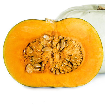Crown Pumpkin Half