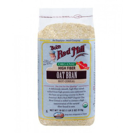 Bob's Red Mill Organic Oat Bran 510g