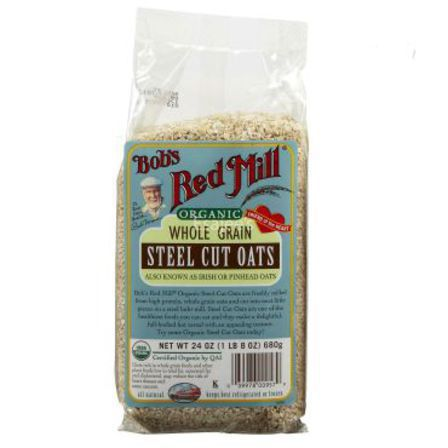 Bob's Red Mill Organic Steel Cut Oats 680g