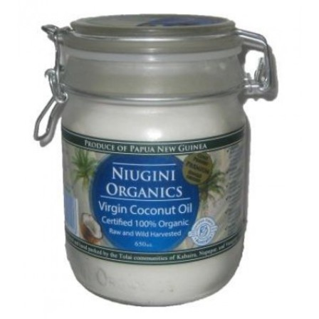 Niugini Organics Virgin Coconut Oil - 650ml